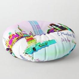 911 - E Pluribus Unum Floor Pillow