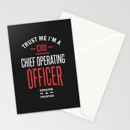 COO - Chief Operating Officer Stationery Cards