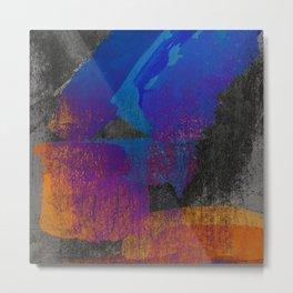 Neon Grunge 2 Metal Print