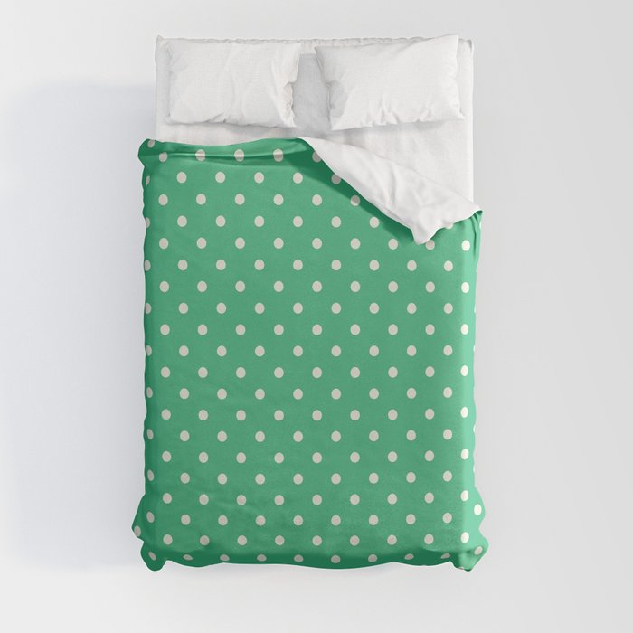 Mint Green Duvet Cover