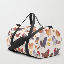 Chicken and Chick Duffle Bag