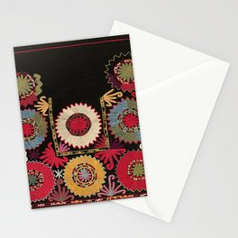 Lakai Uzbekistan Embroidery Print Stationery Cards