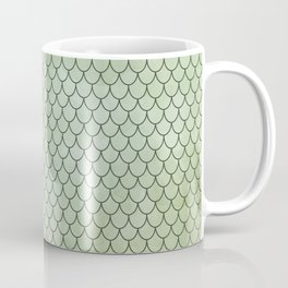 Mermaid Tail Pattern Coffee Mug