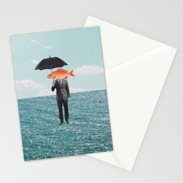 Can't get wet Stationery Cards