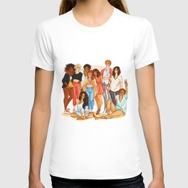 Marauders' Era group picture T-shirt