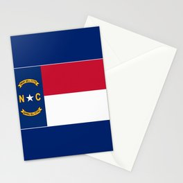 North Carolina State Flag Stationery Cards