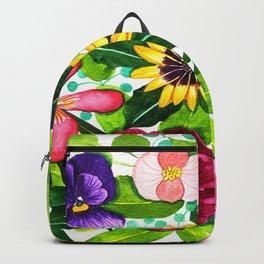 Flower Portraits Backpack