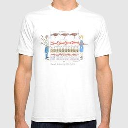 Social Distancing Nova Scotia T-shirt