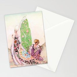 Kay Nielsen - Princess Lena And Michael, The Gardener Stationery Cards