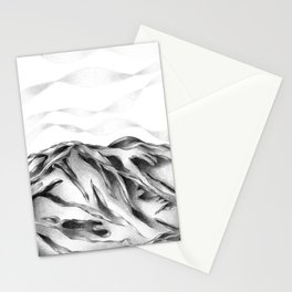Mountain Ribbons Stationery Cards