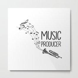 Music Producer Metal Print