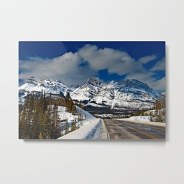 Icefields Parkway Rocky Mountains Canada Metal Print