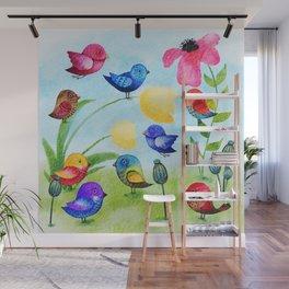 Garden Party Wall Mural