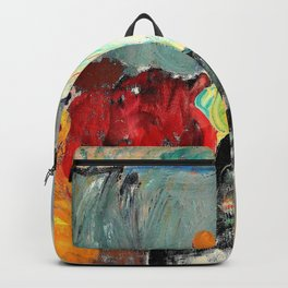 Karl Oscar Isakson - Lady with Hand Mirror - Digital Remastered Edition Backpack
