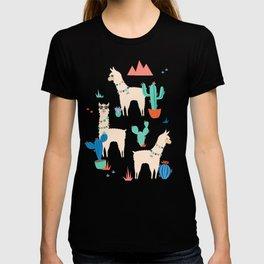 Summer Llamas T-Shirt