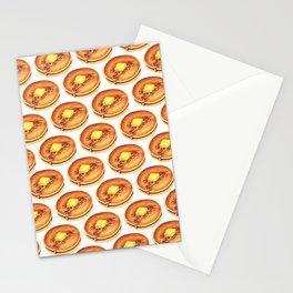 Pancakes Pattern Stationery Cards