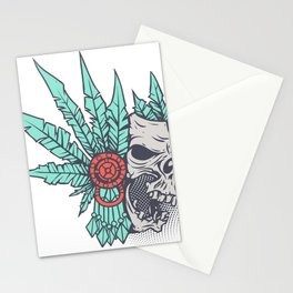 The old soul Stationery Cards
