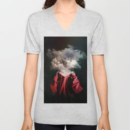 Escaping The Smoke Unisex V-Neck