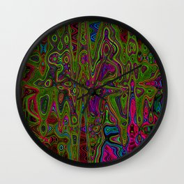 Psych Reversed Wall Clock