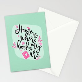 Home is Stationery Cards