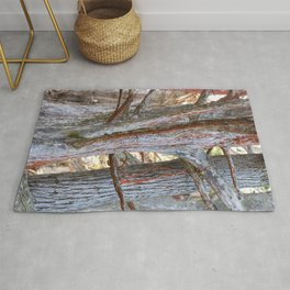 Trees with Lichen Rug