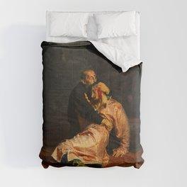 Vivid Retro - Ivan the Terrible and His Son Ivan Comforters