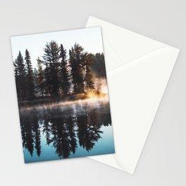 Misty Lake Pine Island Stationery Cards