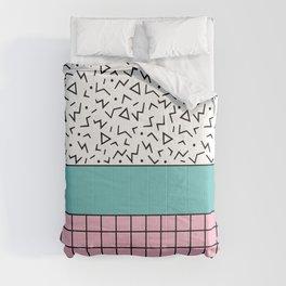Memphis Pattern 33 / 80s - 90s Retro Comforters
