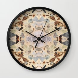 Terrazzo Rorschach Testing Wall Clock