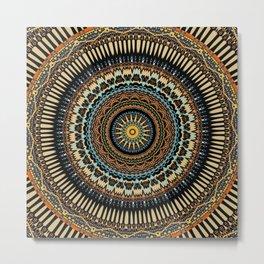 Tribal Mandala 2 Metal Print