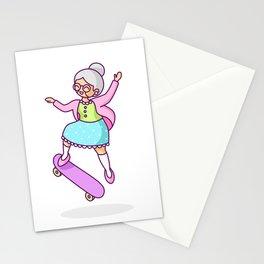 Skater Grandma Stationery Cards