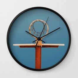 basketball hoop 5 Wall Clock