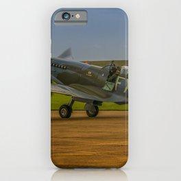 Spitfire HF Mk.IXe TD314 iPhone Case
