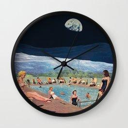 Moon Party Wall Clock