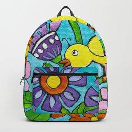 Springtime Series #5 Singing Bird Backpack