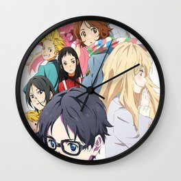 Your Lie In April Wall Clock