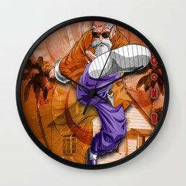 Master Roshi Dragon Ball Wall Clock
