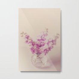 Lilac Stocks  Metal Print