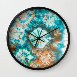 wild rhythms Wall Clock