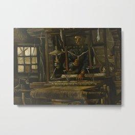 A Weaver's Cottage Metal Print