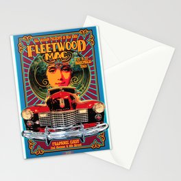 Vintage-Music Art - Fleet-wood-Mac In Concert-1969 At-Fillmore-East Stationery Cards