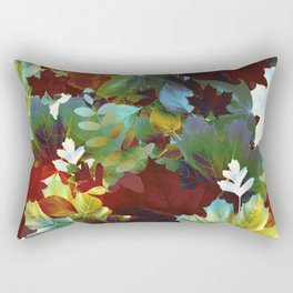 leaves composition Rectangular Pillow