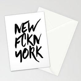 NEW FCKN YORK Stationery Cards