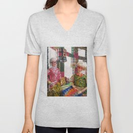 Immersed In One's Craft Unisex V-Neck