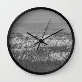 The Great Rockies Wall Clock