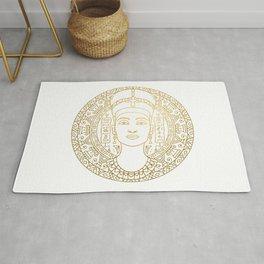 Nefertiti Mandala – Egypt Rug