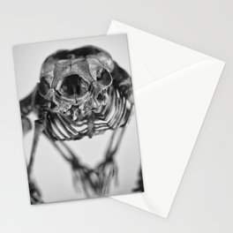 Strange skeleton Stationery Cards