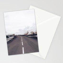 Arid Winter Way Stationery Cards