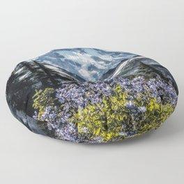 Scenic Art, Mt. Rainier, Mt. Rainier National Park, Spray Park Floor Pillow