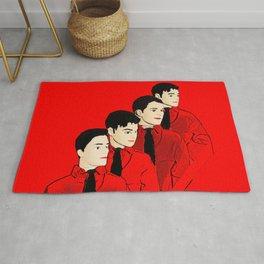 Kraftwerk Kens - Funny Music Pop Art! Rug